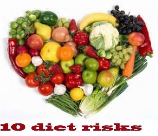 10 diet risks