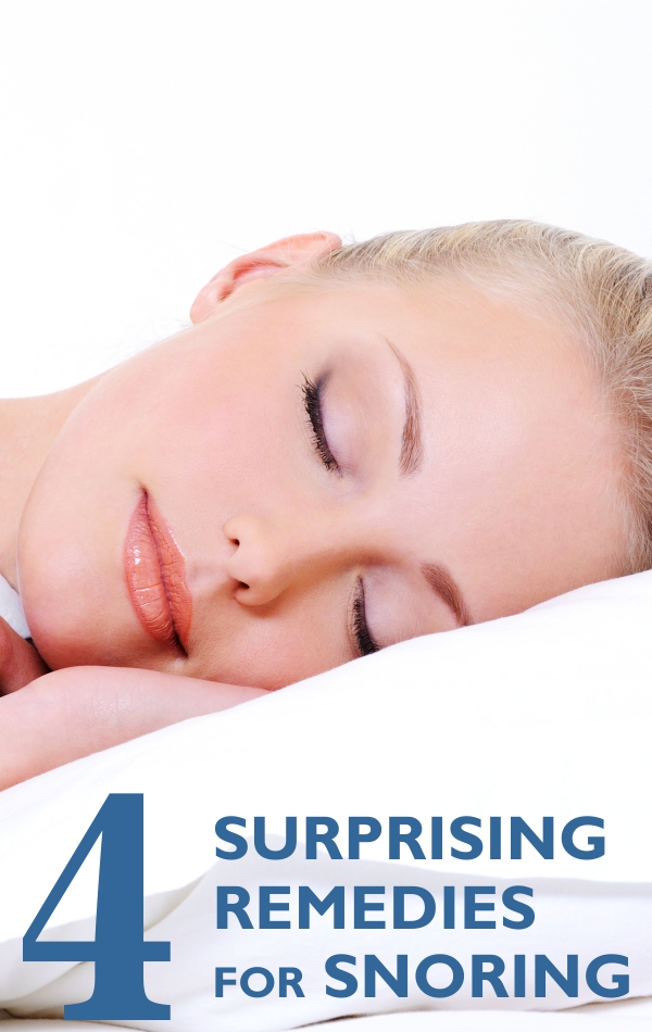 4 Surprising Remedies For Snoring