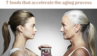 7 foods that accelerate the aging process