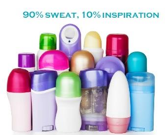 90% sweat, 10% inspiration