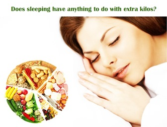 Does sleeping have anything to do with extra kilos?
