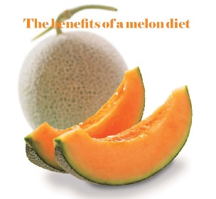 The benefits of a melon diet