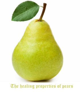 The healing properties of pears