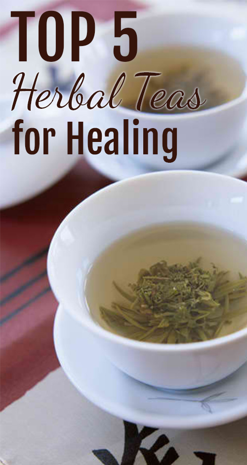 The Top 5 herbal Teas For Healing