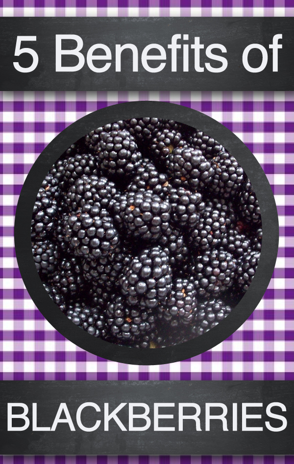 Top 5 Natural Health Benefits of Blackberries