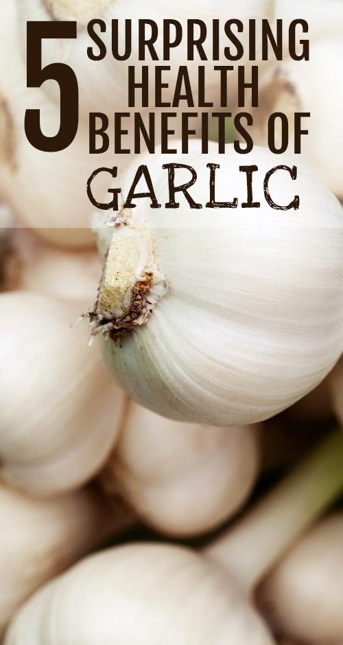 Top 5 Natural Health Benefits of Garlic